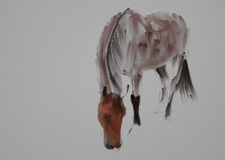Horse Painting Step by Step 6