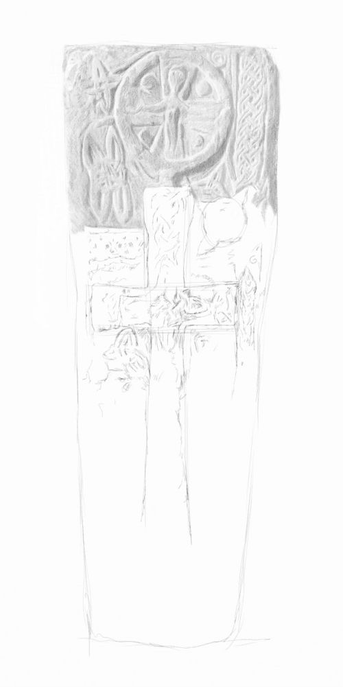 celtic cross drawings