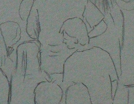 how to draw a groups of people