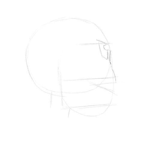 evil skull drawings 10