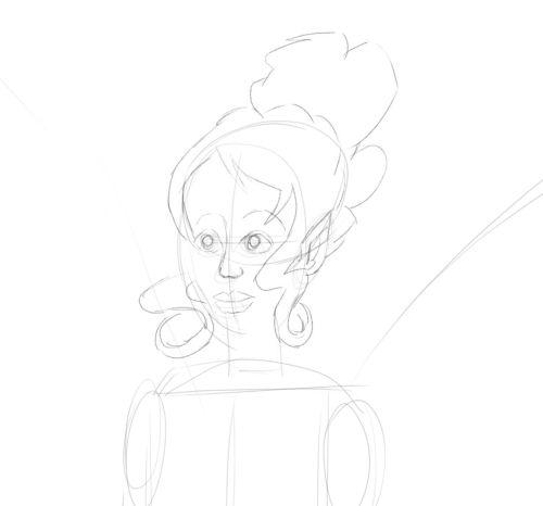Fairy Drawings in Pencil 10