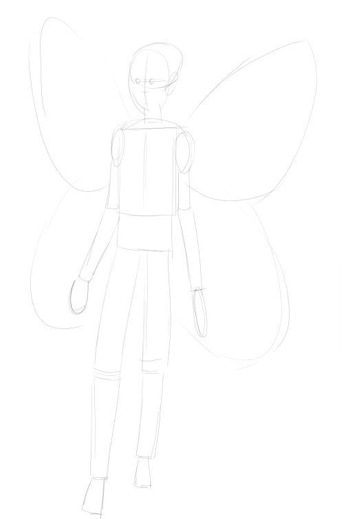 Fairy Drawings in Pencil 6