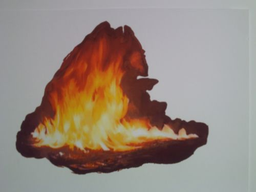 Flame Drawing 7