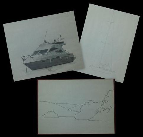 preparatory sketches