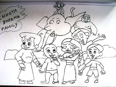 CHOTTA BHEEM FAMILY