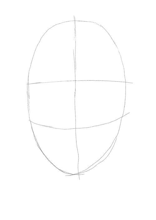 evil skull drawings 1