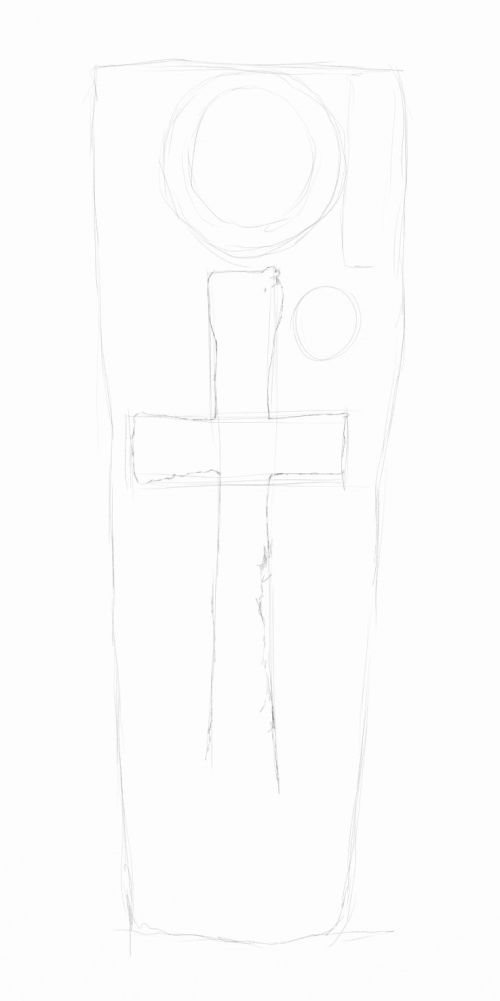 celtic cross drawings