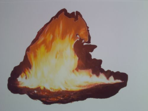 Flame Drawing 6